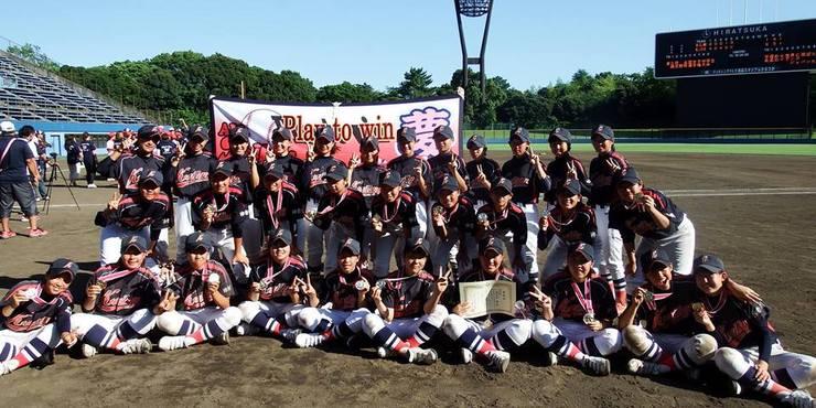 日程決定:全国女子中学生硬式野球選手権大会(神奈川県平塚市)