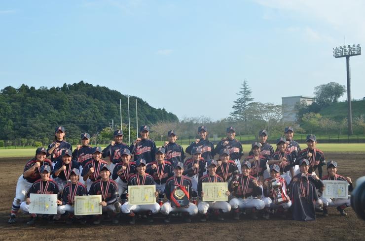 祝 優 勝:第12回U-15全国KWB野球大会・女子の部
